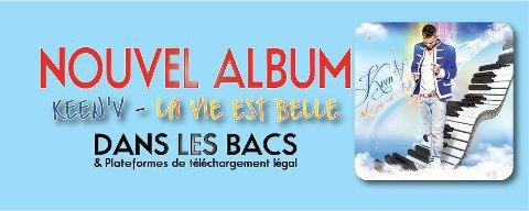 """AUJOURD'HUI L'ALBUM """"LA VIE EST BELLE"""" EST DANS LES BACS ET DEJA 1ER SUR ITUNES!!"""