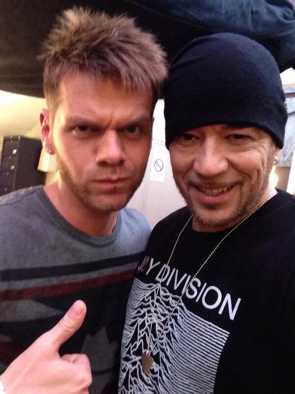 Keen'V en studio avec Pascal Obispo