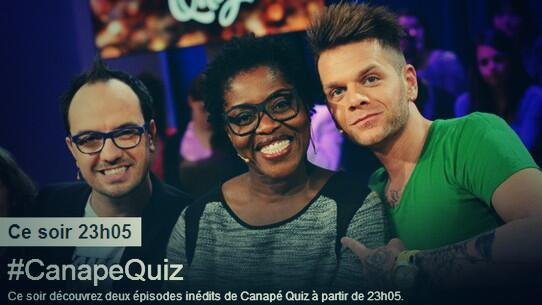 "Replay de ""Canapé Quiz"" sur TMC"