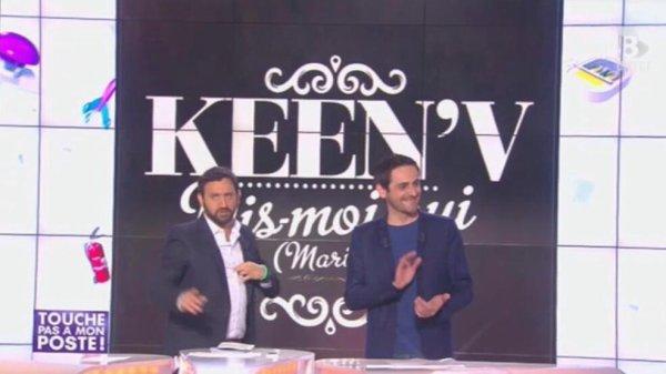 """Keen'V dans """"Touche pas à mon poste"""" 4.06.14"""