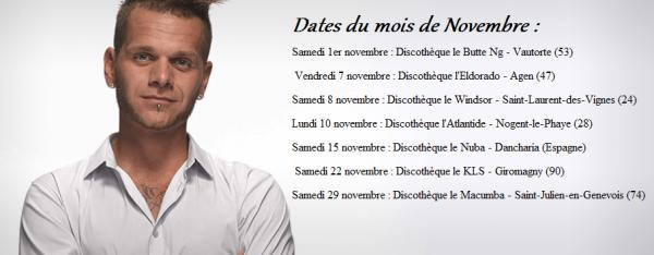 Dates de novembre