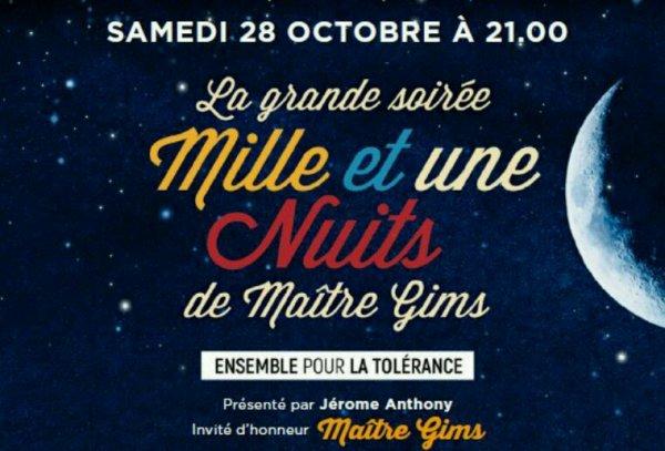 """Keenv dans """" La grande soirée Mille et une Nuits""""."""
