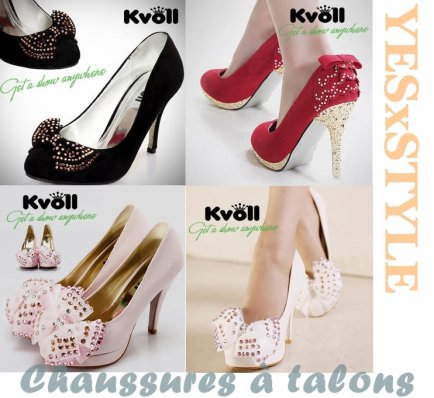 CHAUSSURES A TALONS.