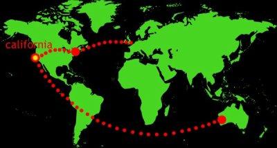 THOUSAND SUNS WORLD TOUR MAP