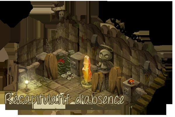 #34 - Récapitulatif d'absence