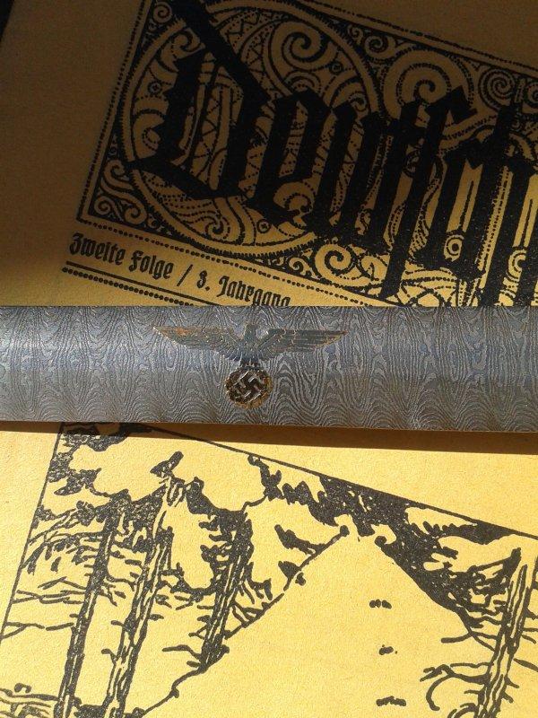 Récupérer cet aprem,trouvée dans une poubelle avec une épée