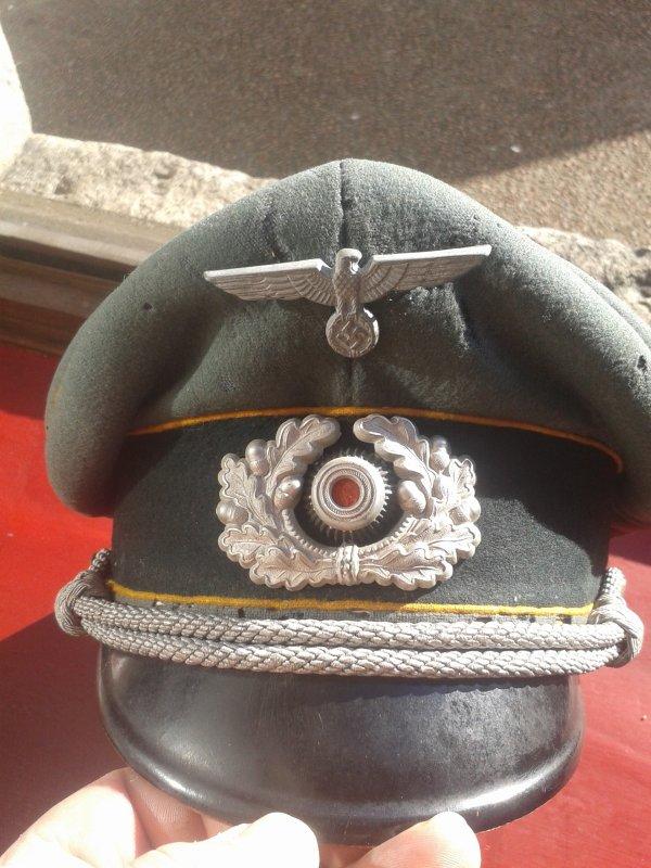 Casquette d'officier de cavalerie