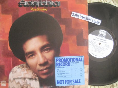 "SMOKEY ROBINSON - LP - "" Pure Smokey """