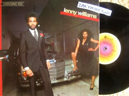 "LENNY WILLIAMS - LP - "" Choosing You """