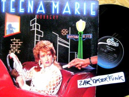 "TEENA MARIE - LP - "" Robbery """