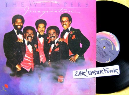 "THE WHISPERS - LP - "" Imagination """