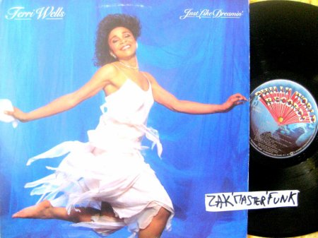 "TERRI WELLS - LP - "" Just Like Dreamin' """