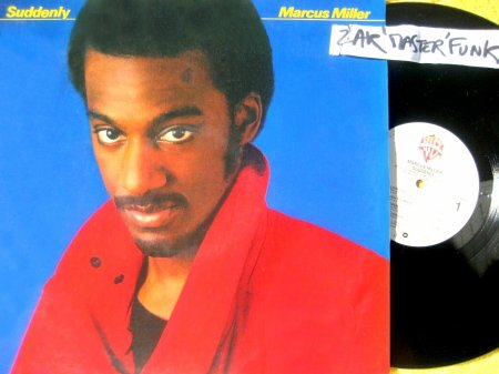 "MARCUS MILLER - LP - "" Suddenly """