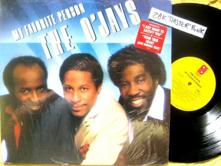 "THE O' JAYS - LP - "" My Favorite Person """