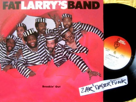 "FAT LARRY'S BAND - LP - "" Breakin' Out """