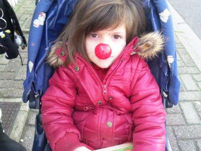 ♥♥moi avec mon nez de clown♥♥