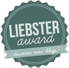 Mon premier tag, Liebster Award.