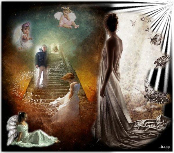 Un ange au paradis