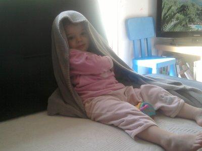 ma fille qui se tape un delire