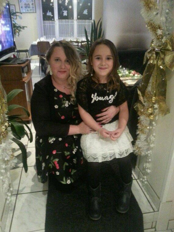 Moi et ma fille et ma nièce