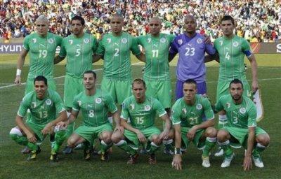 L'equipe d'algerie