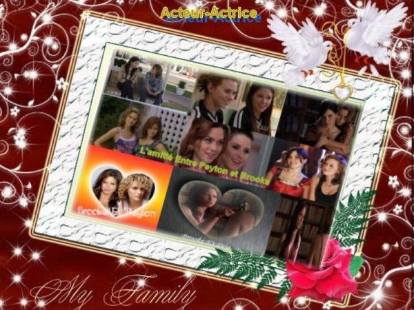 L'amitié entre Brooke et Peyton