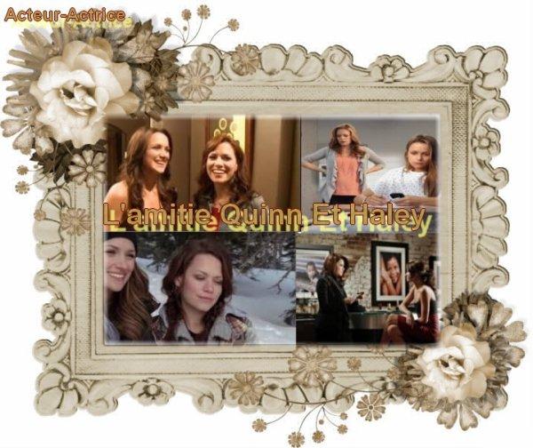 L'amitié Entre S½ur Quinn Et Haley