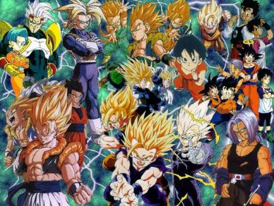 Personnage de dragon ball z mechant et gentil tout - Tout les image de dragon ball z ...
