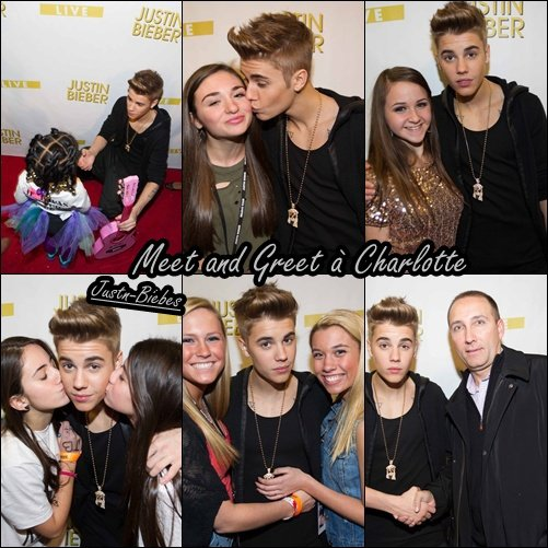 Believe Tour ; M&G ; Fondation the voice