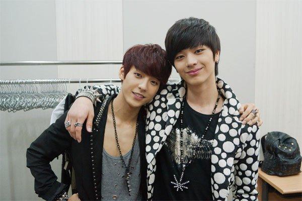 Minjae (Minhyuk et Sung Jae btob)