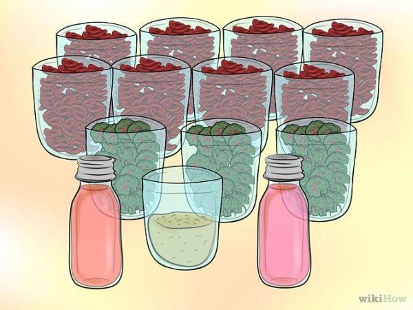 Recette de pot-pourri à base de rose « bols de rose ».