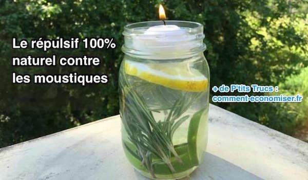 Efficace contre les moustiques.L'astuce 100% naturelle répulsif maison tout simple à faire.