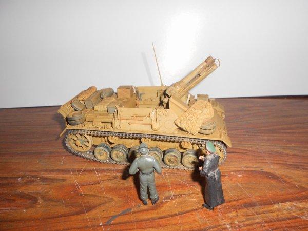 Panzer III canon de 150 mm afrikacorps
