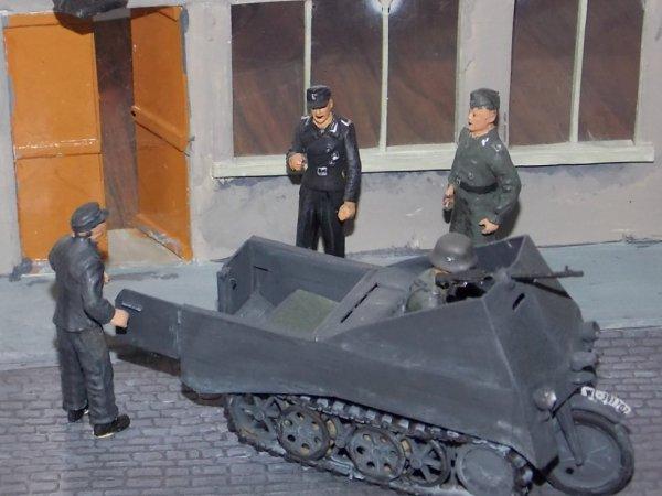 prototype de kubelwagen blindée