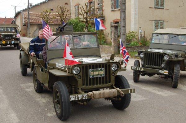 Voila quelque photos des comémorations du 8 mai à Osses petit village du Doubs. Présenter par l'amical comtoise mémory 1944.