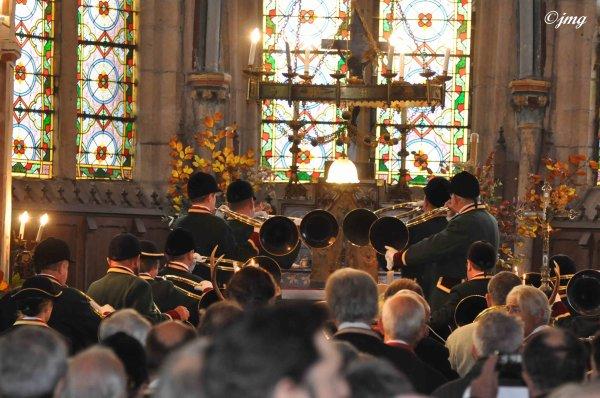 Samedi 08/11/14. Messe de St Hubert.