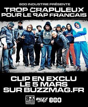 $$$ TROP CRAPULEUX POUR LE RAP FRANCAIS LE GROUPE DE KNAI BIENTÔT LE CLIP EN EXCLU LE 5 MARS 2011 $$$