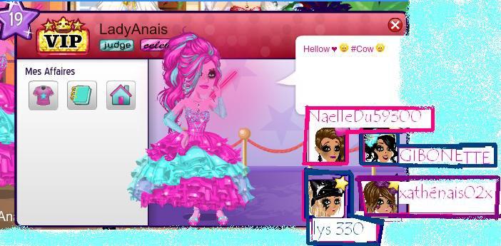 Mon profil est mes amie :))