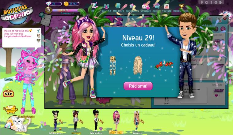Niveaux 29!!!!