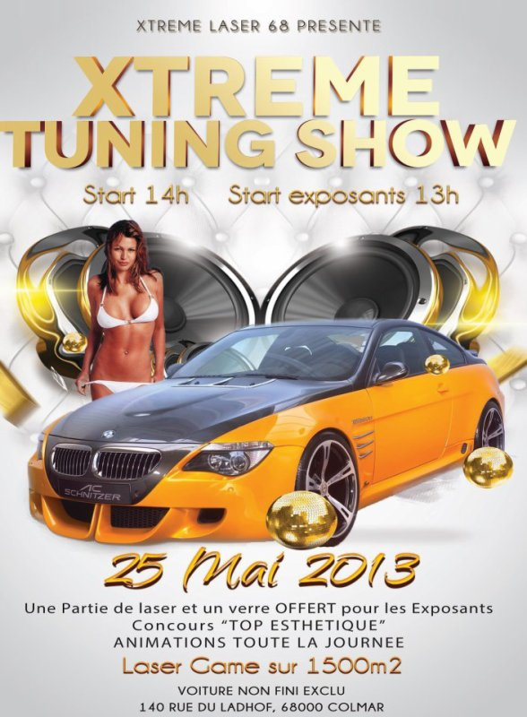 Expo tuning laser game Colmar