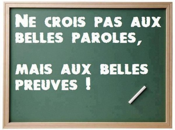 LES PAROLES ...