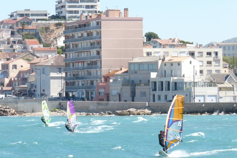 Fin de l'été à Marseille (Prado et Pointe Rouge ) Photo Pierre Paul