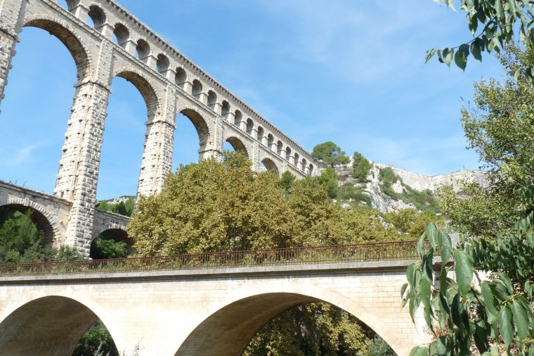 Aqueduc de Roquefavour 13 ( photos Pierre Paul ) clic gauche sur les photos