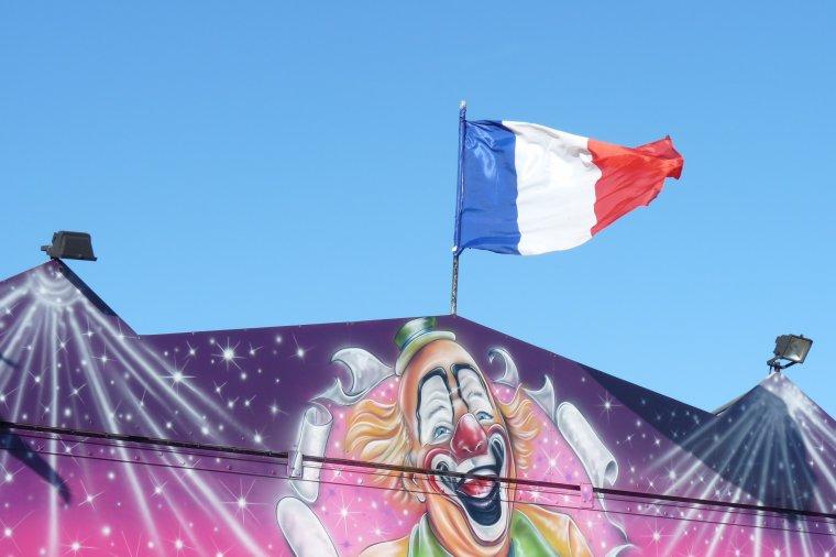 C'est le ciel d'aujourd'hui au dessus d'un petit cirque 29 12 2013 (Photo Pierre Paul )