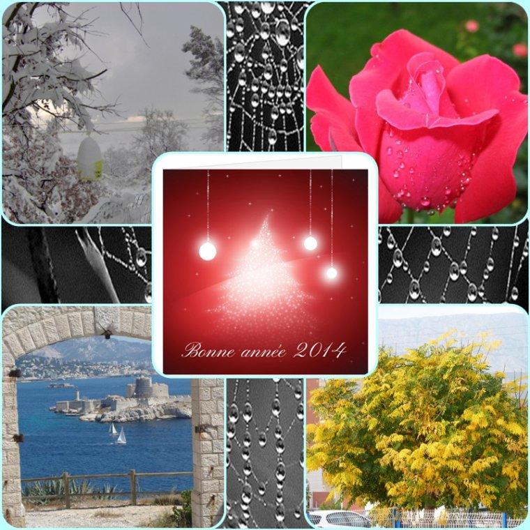 Les quatre saisons de Pierre Paul pour une bonne et heureuse Année 2014