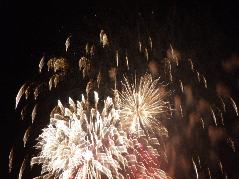 Nous étions à 5 km du feu d'artifice pour la clôture de Marseille Capitale de la culture