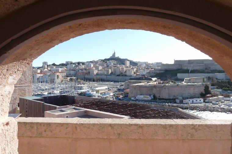 Des photos depuis le Fort Saint Jean et le Mucem de Marseille (photos Pierre Paul 5 01 2014