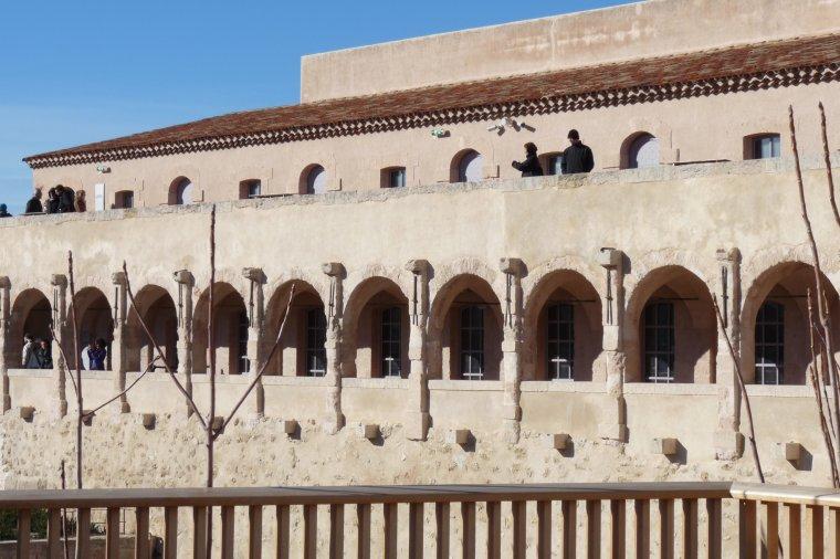 Des vues depuis le fort Saint-Jean -Mucem-Marseille  (photo Pierre Paul )