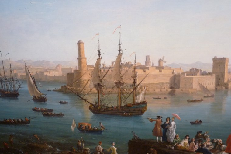 Photo Pierre Paul sans flash ( Vernet Joseph 1714-1789) Mucem Marseille
