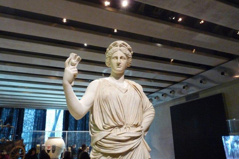 Cérès Borghèse 1er siècle avant JC et après de nombreuses restauration IV siècle